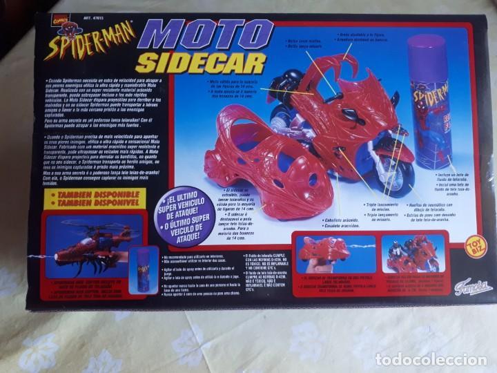 Juegos antiguos: Spiderman Moto Sidecar de Famosa - Foto 2 - 194332489