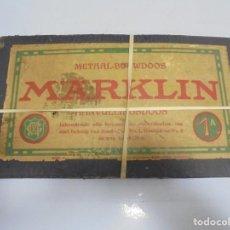 Juegos antiguos: JUEGO MARKLIN. AANVULLINGSDOOS. 1A. PIEZAS. ALEMAN. CON CAJA. EL DE LAS FOTOS. VER. Lote 141195214