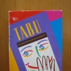 Giochi antichi: T. ANTIGUO JUEGO TABÚ DE MB 1990. Lote 142212606
