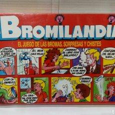 Juegos antiguos: BROMILANDIA. FALOMIR. NUEVO EN CAJA. PRECINTADO. 1989.. Lote 185752302
