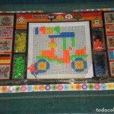 Juegos antiguos: JUEGO COLORINES EN BLISTER , REF:250/2 , JUGUETES PIQUÉ ( ESPAÑA ) . CLAVO OPACO , ORIGINAL AÑOS 70. Lote 142831806