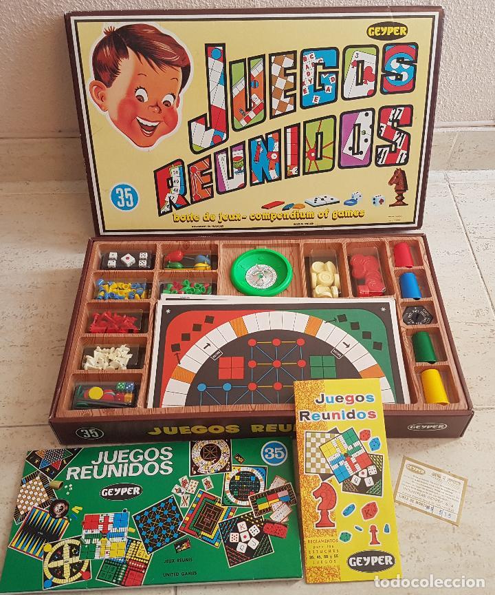 Antiguo Juego Anos 70 Juegos Reunidos 35 Geyper Comprar Juegos