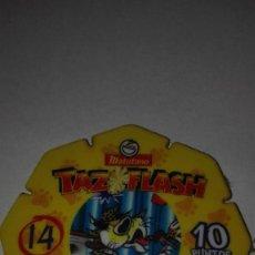 Juegos antiguos: TAZO MATUTANO TAZ FLASH. Lote 143734606