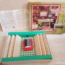Juegos antiguos: ANTIGUO JUEGO MINI VOLGRAMA DE LA TELE DIRAP AÑOS 60 JUGUETE FAMILIA DE MESA PALABRAS . Lote 144340510