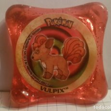 Juegos antiguos: ANTIGUO TAZO POKEMON NINTENDO 2003 PANINI WAPS-VULPIX. Lote 144562718