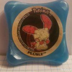 Juegos antiguos: ANTIGUO TAZO POKEMON NINTENDO 2003 PANINI WAPS-PLUSLE. Lote 144563482