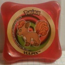 Juegos antiguos: ANTIGUO TAZO POKEMON NINTENDO 2003 PANINI WAPS-VULPIX. Lote 144564318