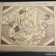 Juegos antiguos: JUEGO IMPRENTA. IMPRENTILLA 117. AÑOS 50. Lote 146983850