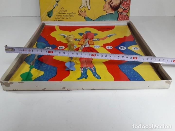 Juegos antiguos: Antiguo juguete Lanzando puñales de lanman plastic - Foto 7 - 147139702