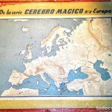 Juegos antiguos: DE LA SERIE CEREBRO MÁGICO LOS Nº1 ESPAÑA Y Nª2 EUROPA - SERIE COMPLETA. Lote 147474386