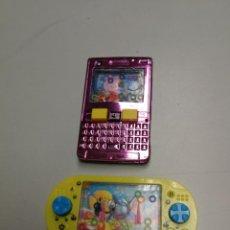 Juegos antiguos: DOS JUEGOS DE AGUA PEPA PIG TELEFONO MOVIL Y PECES GAME MACHINE. Lote 147560314
