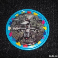 Juegos antiguos: COLECCION TAZO TAZOS CAPS METAL RAPPERS MAGIC BOX INTERNATIONAL SERIE TRANSPORTE NUM 153 HELICOPTERO. Lote 147658586