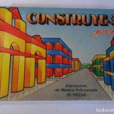 Juegos antiguos: ANTIGUO JUEGO CONSTRUYE 3, EN CAJA ORIGINAL , VER FOTOS. Lote 148044086
