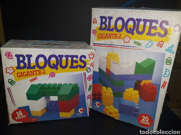 Juegos antiguos: Bloques CEFA - Foto 2 - 164636458