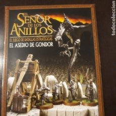 Juegos antiguos: WARHAMMER SEÑOR DE LOS ANILLOS SUPLEMENTO EL ASEDIO DE GONDOR. Lote 149755417