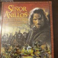 Juegos antiguos: WARHAMMER SEÑOR DE LOS ANILLOS, REGLAMENTO. Lote 149755580