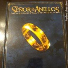 Juegos antiguos: REGLAMENTO WARHAMMER SEÑOR DE LOS ANILLOS. Lote 149756516