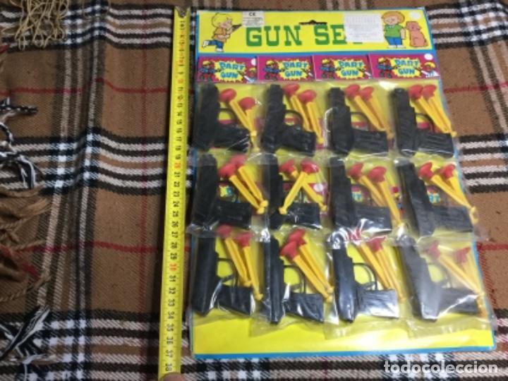 Juegos antiguos: Blister completo con 12 pistolas de kiosco años 70/80 - Foto 5 - 150250030