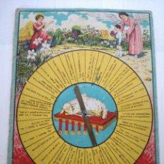 Jogos antigos: ANTIGUO JUEGO RELIGIOSO DOCTRINA CRISTIANA 2° GRADO POR J.TUSQUETS, PBRO.. Lote 150415462