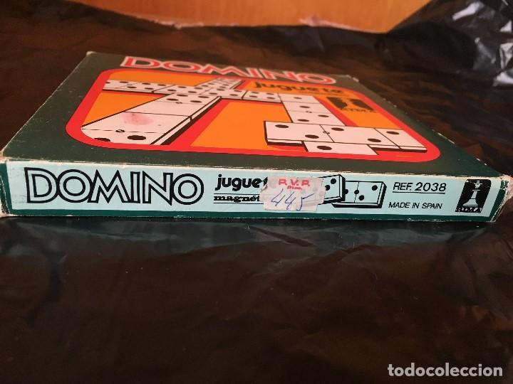 Juegos antiguos: Juego magnético Rima Dominó. Años 80 - Foto 3 - 150566282