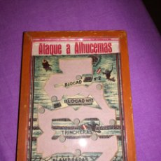 Juegos antiguos: BONITO JUEGO DE HABILIDAD ATAQUE DE ALHUCEMAS. Lote 151452724