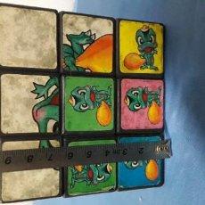Juegos antiguos: CUBO MÁGICO O DE RUBÍ ANTIGUO . Lote 151641778