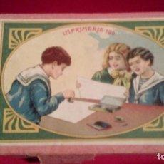 Juegos antiguos: IMPRENTA INFANTIL Nº 120. Lote 151878706