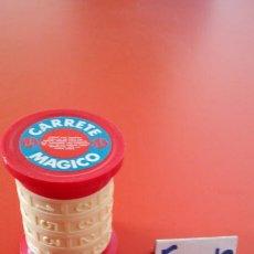 Juegos antiguos: PASATIEMPO NÚMEROS CARRETE MÁGICO.VILPA 70S.NUEVO.. Lote 152512466