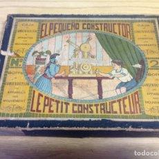 Juegos antiguos: EL PEQUEÑO CONSTRUCTOR NÚMERO 2. Lote 153560653