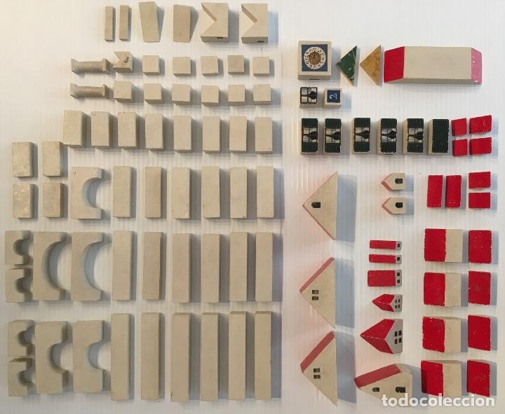 ANTÍGUO JUEGO DE CONSTRUCCIÓN. MÜNCHNER KINDL-BAUKASTEN. VER FOTOS (Juguetes - Juegos - Otros)