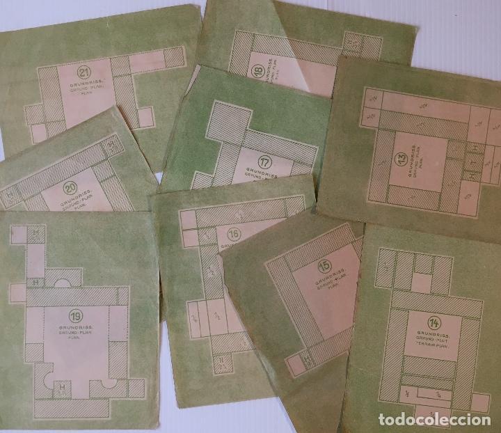 Juegos antiguos: ANTÍGUO JUEGO DE CONSTRUCCIÓN. MÜNCHNER KINDL-BAUKASTEN. VER FOTOS - Foto 5 - 153637374