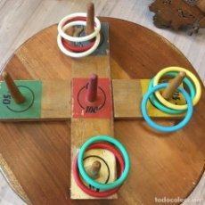 Juegos antiguos: JUEGO INFANTIL DE ANILLAS. Lote 154538310