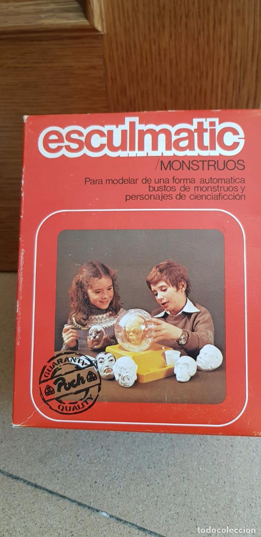 Juegos antiguos: ESCULMATIC MOLDES DON QUIJOTE AÑOS 70 - Foto 2 - 154999502