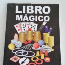 Juegos antiguos: LIBRO DE INSTRUCCIONES JUEGO DE MAGIA. LIBRO MÁGICO HANKYPANKY TOYS. Lote 155618094