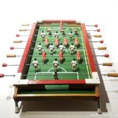 Juegos antiguos: ANTIGUO FUTBOLÍN DE SOBREMESA DE JUGUETES MORAND, DENIA AÑOS 60 70. Lote 155715518