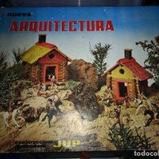Juegos antiguos: NUEVA ARQUITECTURA. CONSTRUCCIONES DE MADERA JUP. AÑOS 60-70 . Lote 155844866