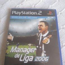 Juegos antiguos: MANAGER DE LIGA 2006 - PLAYSTATION 2. Lote 156479089