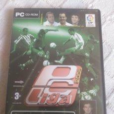 Juegos antiguos: PC LIGA 2005 - LFP. Lote 156479300