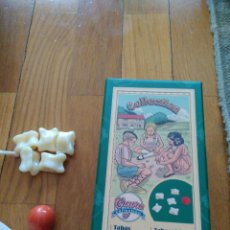 Juegos antiguos: REEDICION ANTIGUO JUEGO DE TABAS DE CAYRO COLECCION CON INSTRUCCIONES. Lote 156495070
