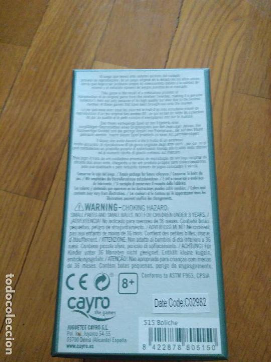 Juegos antiguos: REEDICION ANTIGUO JUEGO DE TABAS DE CAYRO COLECCION CON INSTRUCCIONES - Foto 3 - 156495070