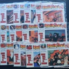 Juegos antiguos: 12 KALKITOS ( ERASE UNA VEZ EL HOMBRE ) DIFERENTES / PRECINTADOS / AÑO 1979. Lote 156624756