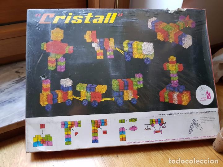 Juegos antiguos: ANTIGUO JUEGO CRISTALL DE CONSTRUCCION AÑOS 70 DE SOMDOS - Foto 2 - 156828590