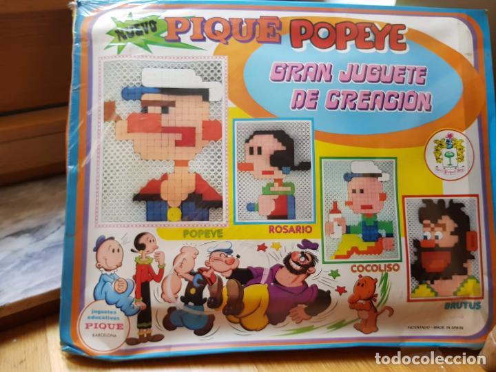 Juegos antiguos: ANTIGUO JUEGO DE CONSTRUCCION DE POPEYE DE PIQUE GRAN JUGUETE DE CREACION AÑOS 70 - Foto 2 - 156831658