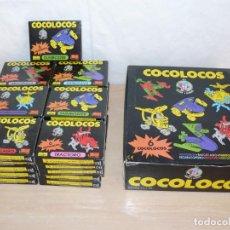 Juegos antiguos: SUPER LOTE 31 CAJAS COCOLOCOS + 4 CAJAS KNEX EVALAND EVAPAL K NEX COCO LOCOS MADE IN SPAIN. Lote 159585626