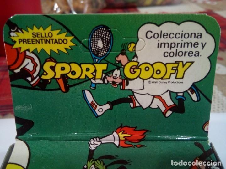 Juegos antiguos: SELLO DE IMPRIMIR DE GOOFY FABRICADO POR FRAMUN - Foto 2 - 159632570