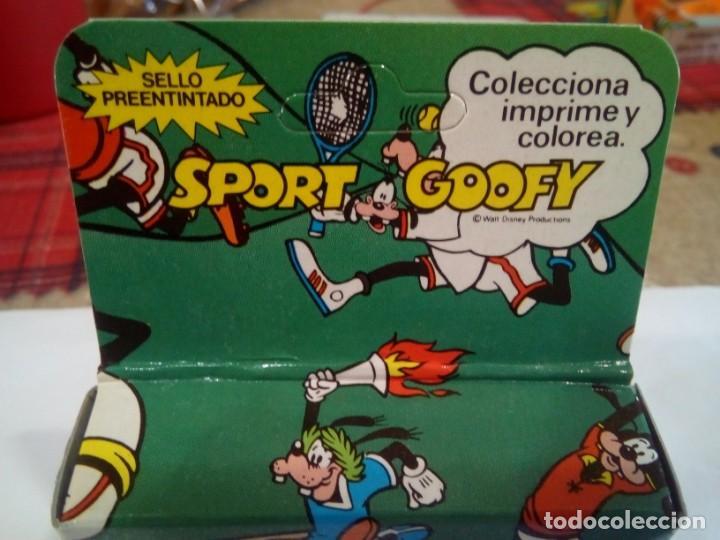 Juegos antiguos: SELLO DE IMPRIMIR DE GOOFY FABRICADO POR FRAMUN - Foto 2 - 171977248