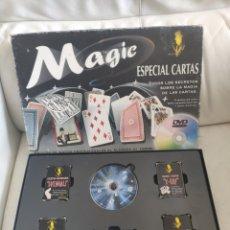 Juegos antiguos: JUEGO DE MAGIA ESPECIAL CARTAS MAGIC. Lote 159848469