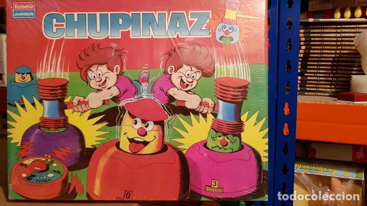 ANTIGUO JUEGO CHUPINAZO DE FALOMIR PUEDEN COMPETIR CUALQUIER NUMERO DE JUGADORES (Juguetes - Juegos - Otros)