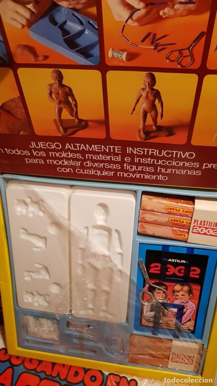 Juegos antiguos: ANTIGUO JUEGO DE PLASTILINA 2002 INSTRUCTIVO CON MOLDES Y MATERIALPP PARA MODELAR - Foto 2 - 161933070