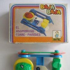 Juegos antiguos: BAJA BAJA EL ASOMBROSO CORRE PAREDES - ARTEC AÑOS 70 - 80 - SIN USO. Lote 162842457